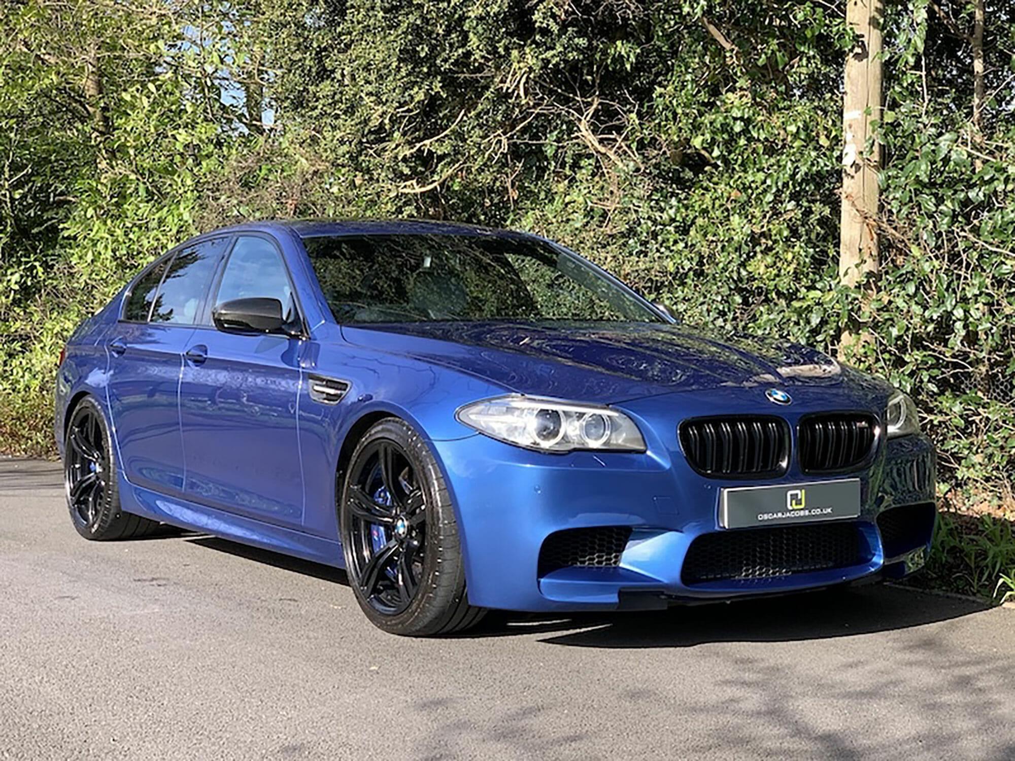 BMW M5 2014 facelift