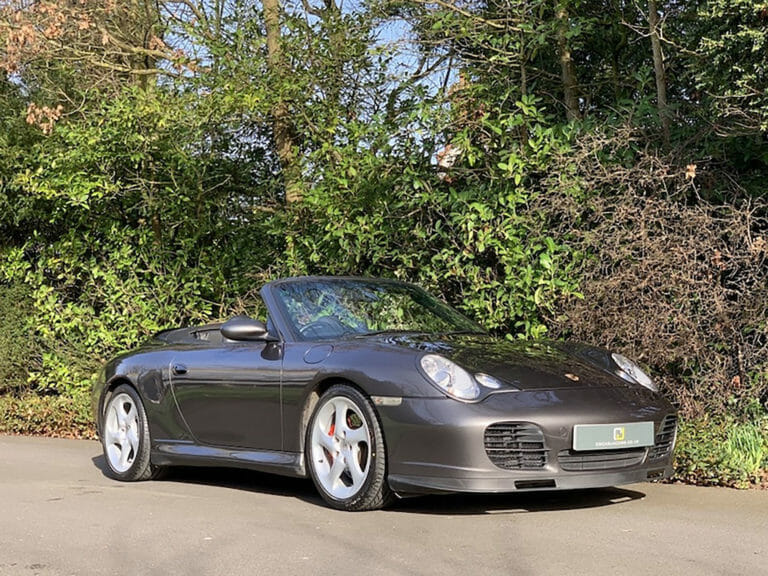Porsche 911 2004 (996) Carrera C4S Cabriolet