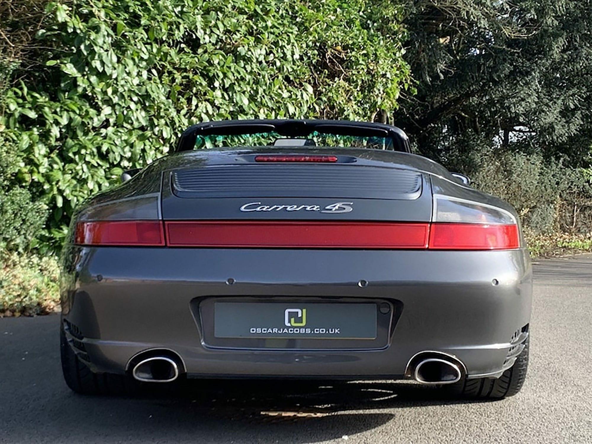 Porsche 911 2004 996 Carrera C4s Cabriolet Oscar Jacobs