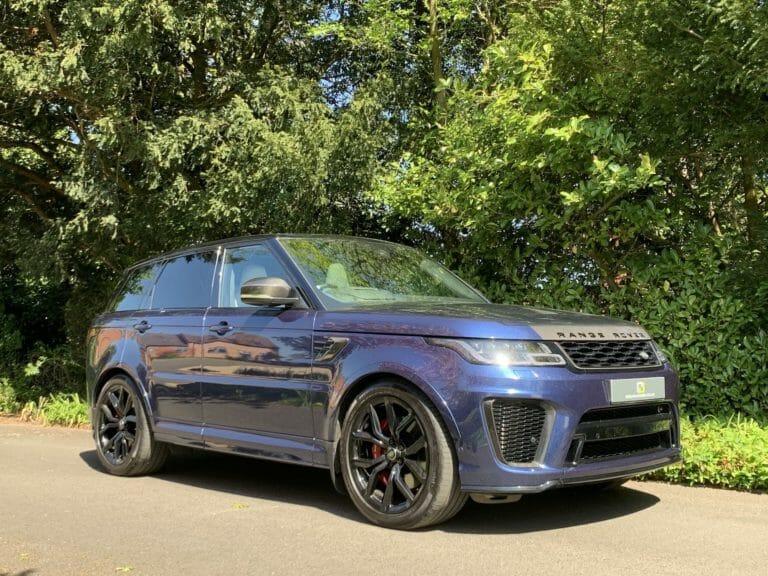 Range Rover Sport 575 V8 SVR 2019