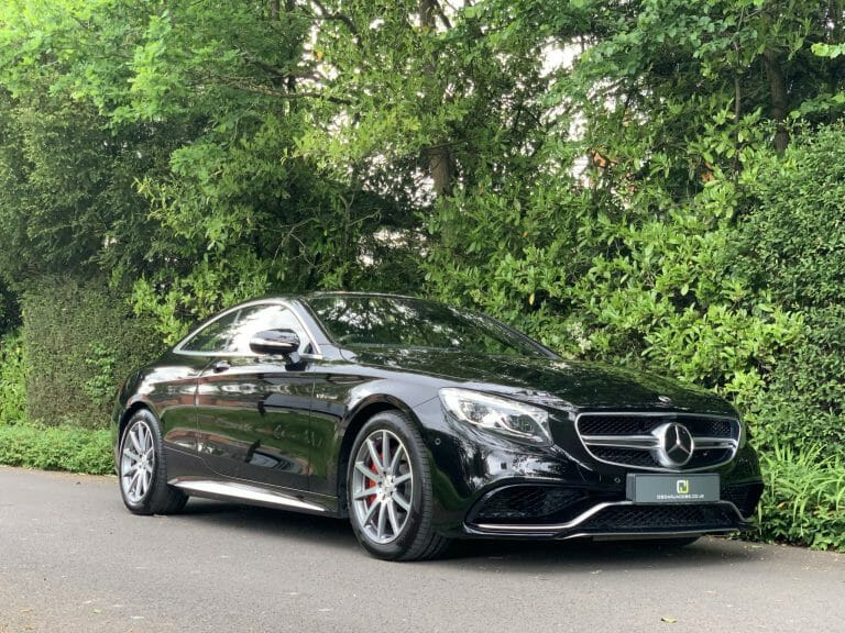 Mercedes Benz S63 AMG Coupe 2018