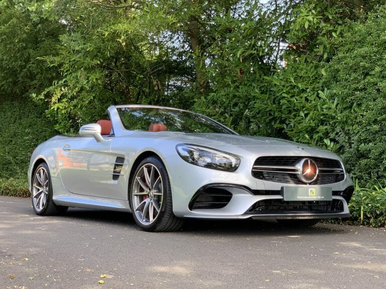 Mercedes SL 63 AMG Convertible 2016
