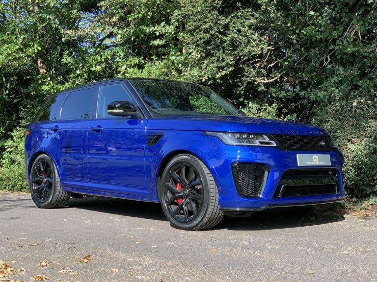 Range Rover Sport SVR 575ps 2020