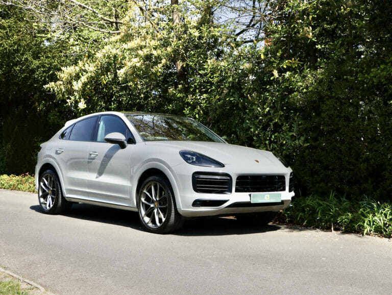 Porsche Cayenne Coupe with Lightweight Package