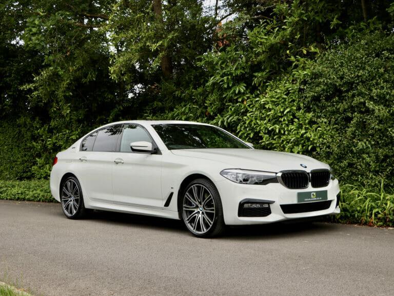 BMW 530e M Sport Saloon 2017 (17)